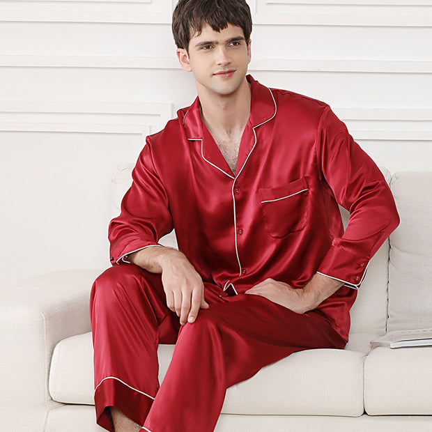 22 Momme High Quality Silk Pajamas Set For Men