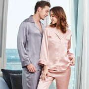 22 Momme High Quality Pure Silk Pajamas Set For Men