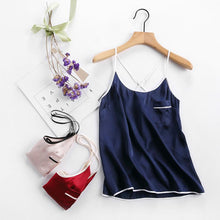 Women's Chic Short Silk Camisole Set