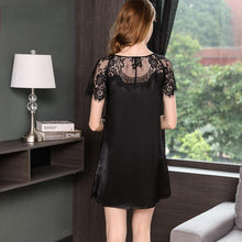 Women's Lace Silk Nightgown