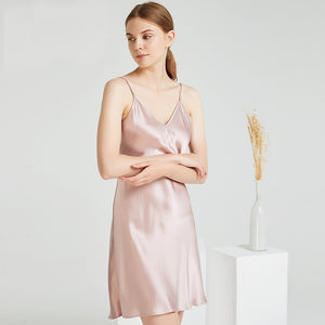 Luxury Classic Silk Nightgown | Multi-Colors Selected