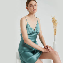 Luxury Sexy V Neck Silk Nightgown | Multi-Colors Selected