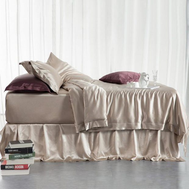 19 Momme Silk Duvet Cover for Comforter Duvet