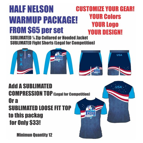 Half Nelson Warmup Package