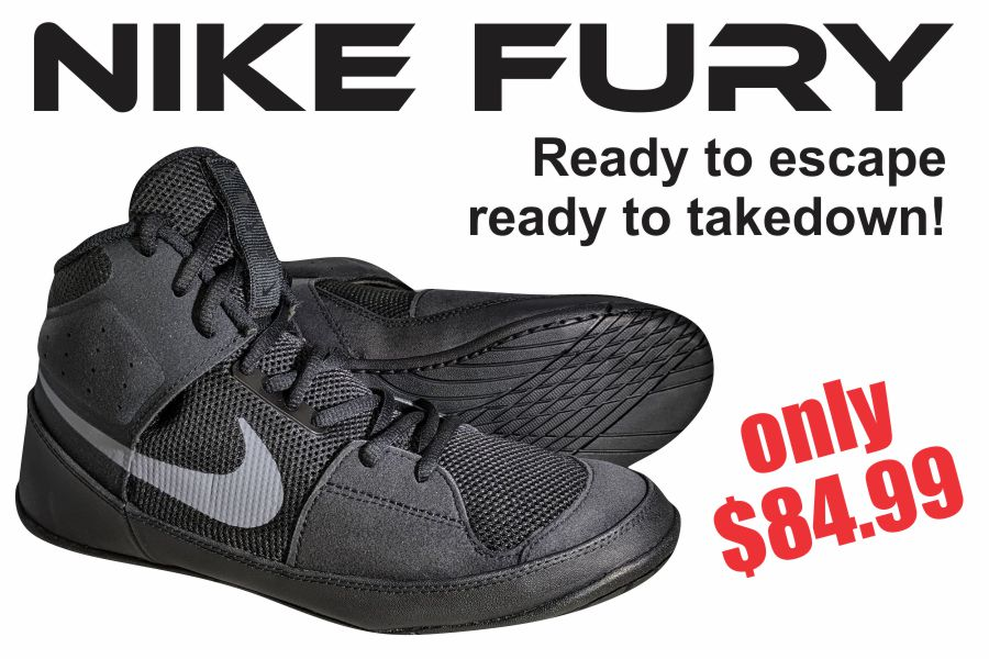 Nike Fury Wrestling Shoes only $84.99