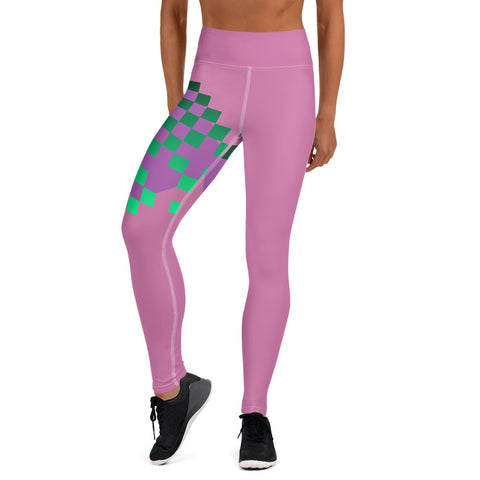 PurFit Pink Rad Like You Premium Exercise yoga leggings