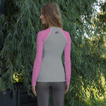 Women's PurFit Rash Guard Eat Sleep Cat Repeat Performance Top