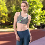 Static Exercise Premium Sports bra