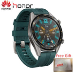 Huawei GT Smartwatch with a green band and free gift