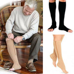 Zipper Compression Leg and Ankle Support
