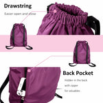 i VIM - Waterproof Softback Drawstring Backpack