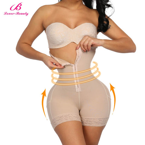 High Waist Shapewear for Belly Compression and Butt Lifting
