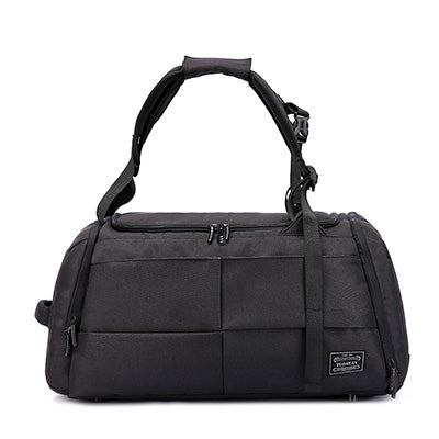 Hewolf - Duffle Bag/Backpack With Shoe Pocket