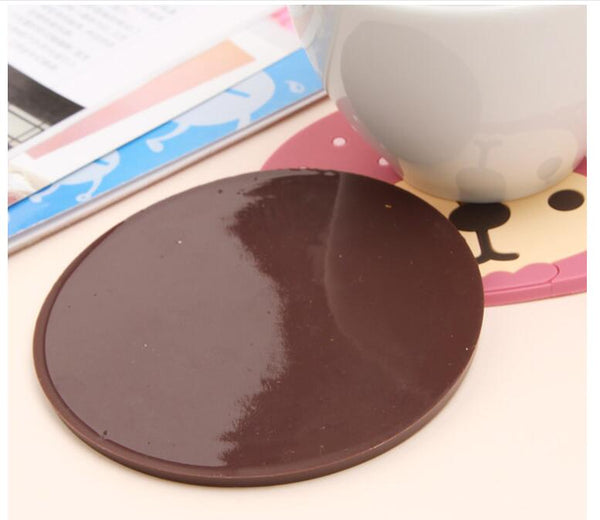 Doll Silicone Coaster
