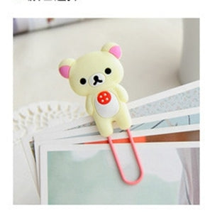 Animal Paperclip Bookmarks