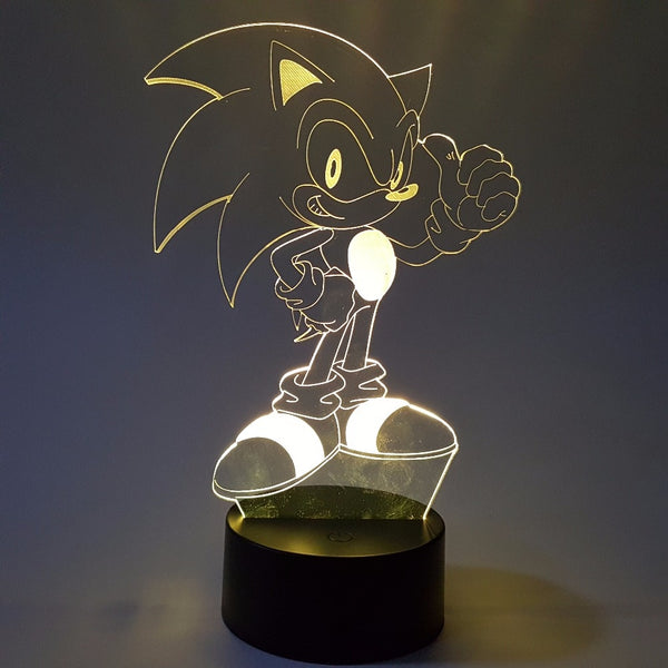 Sonic 3D Night Light