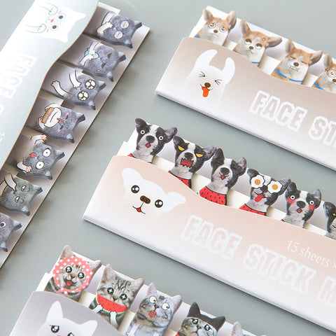 Cat/Dog Sticker Markers