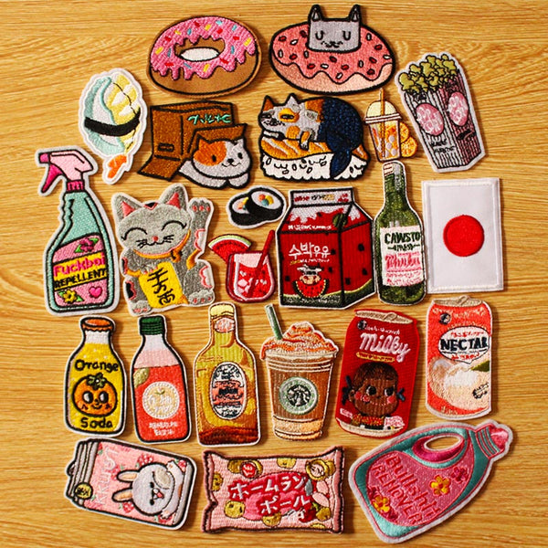Japanese Iron-On Patches