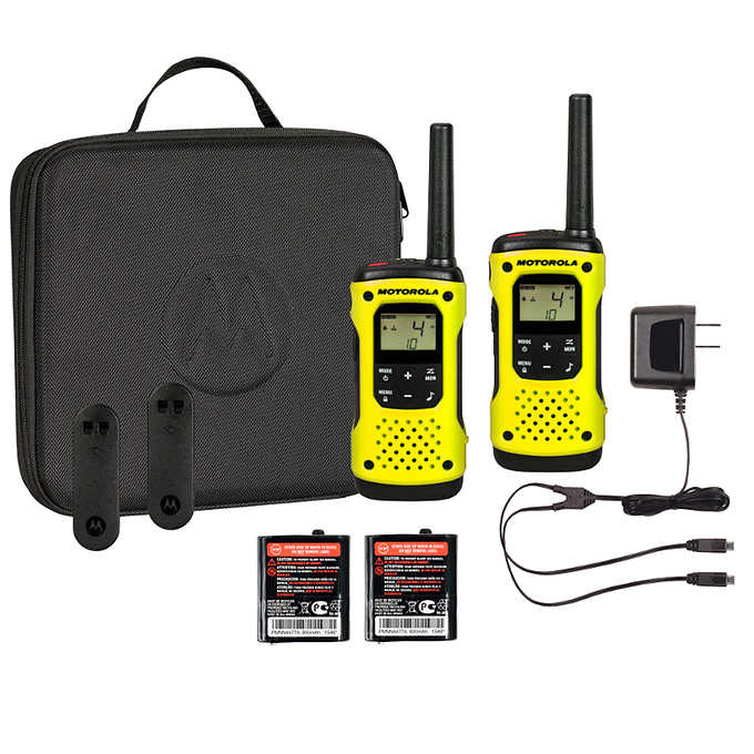 Motorola T631 Talkabout Radio, 2-pack