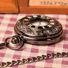 Load image into Gallery viewer, Pocket Watch Classic Black