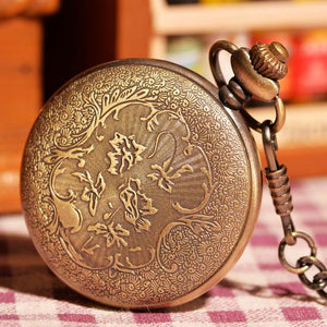 Pocket Watch Vintage Gold Half Hunter