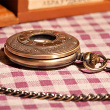 Load image into Gallery viewer, Pocket Watch Vintage Gold Half Hunter