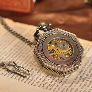 Pocket Watch Golden Treasure Mechanical