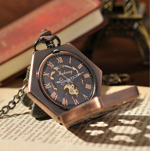Pocket Watch Hexlock Mechanical