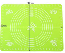 Load image into Gallery viewer, Silicone Baking Mat for Pastry Rolling with Measurements Pastry Rolling Mat, Reusable Non-Stick Silicone Baking Mat