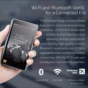 FIIO X5III 3rd Gen WIFI Bluetooth Portable Music Player