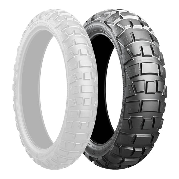 BRIDGESTONE 170/60-17 ADVENTURECROSS AX41 TL 72Q REAR