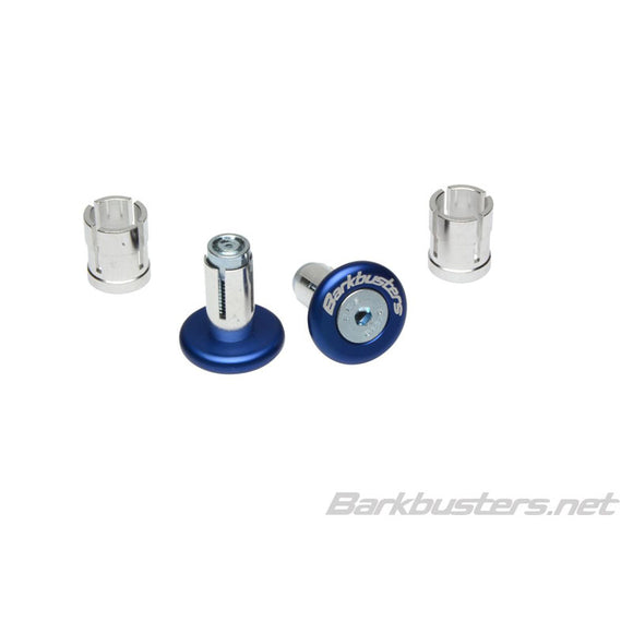 BARKBUSTERS BAR END PLUG 14mm/18mm - BLU (PAIR)