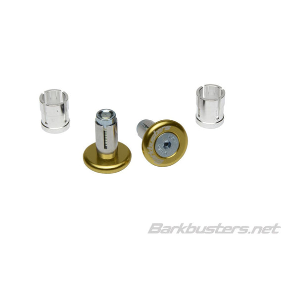BARKBUSTERS BAR END PLUG 14mm/18mm - GLD (PAIR)
