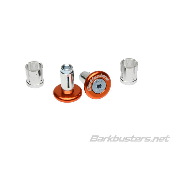 BARKBUSTERS BAR END PLUG 14mm/18mm - ORG (PAIR)