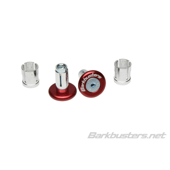 BARKBUSTERS BAR END PLUG 14mm/18mm - RED (PAIR)