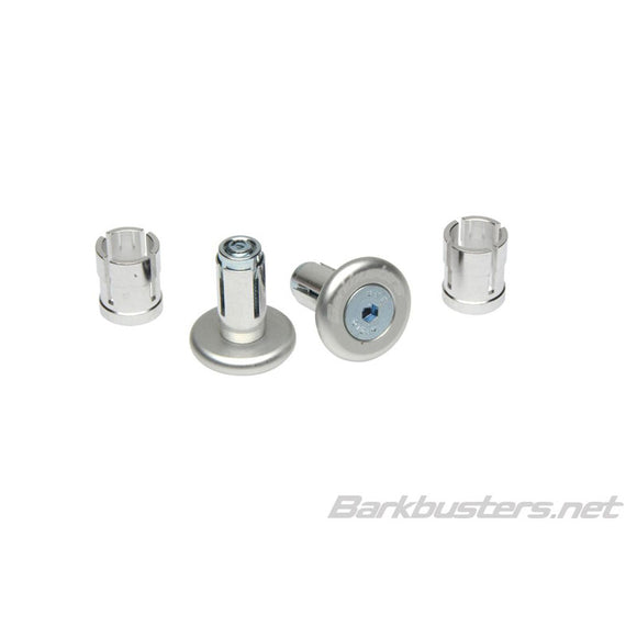 BARKBUSTERS BAR END PLUG 14mm/18mm - SIL (PAIR)