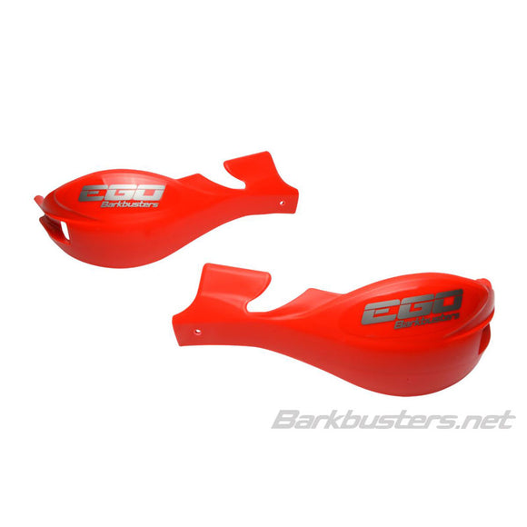BARKBUSTERS HANDGUARD EGO - RED (PLASTIC GUARD ONLY)
