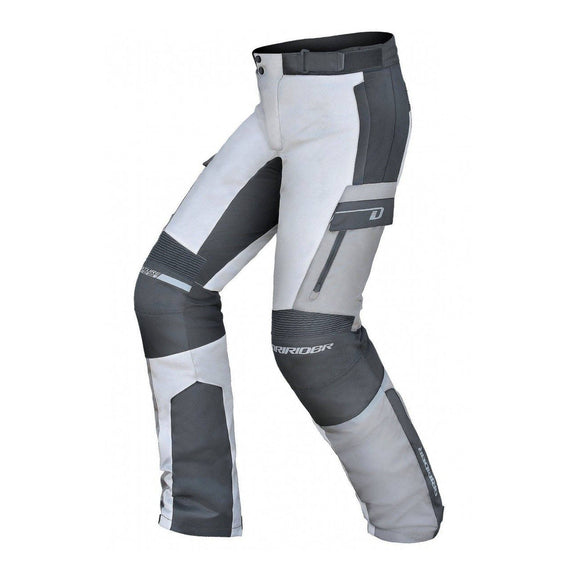 DRIRIDER EXPLORER PANT - GREY / BLACK