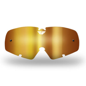 FLY ZONE/FOCUS GOGGLE LENS (2012-2018) YTH CHR/ AMBER