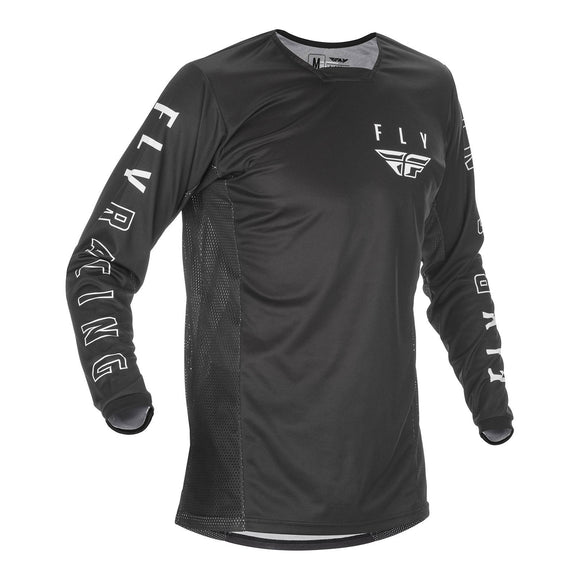 Fly 2021 Kinetic K121 Jersey - Black / White