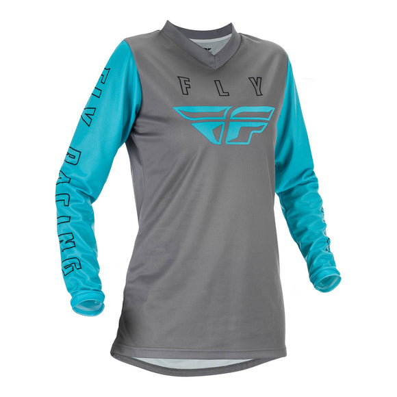 Fly 2021 F-16 Ladies Jersey - Grey / Blue