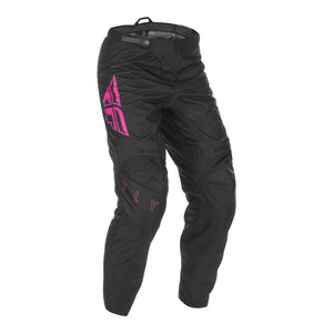 Fly 2021 F-16 Youth Pant - Black / Pink