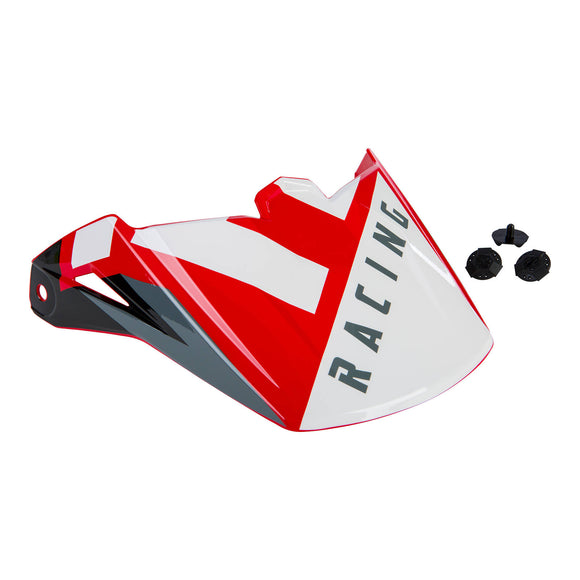 FLY ELITE HELMET PEAK '19 VIGILANT RED/WHT/BLK