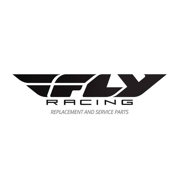 FLY '20 KINETIC YOUTH HELMET PEAK SKETCH MAT BLK/WHT/HI-VIS