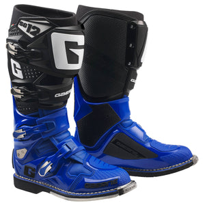 GAERNE SG12 BOOT - BLACK / ROYAL BLUE