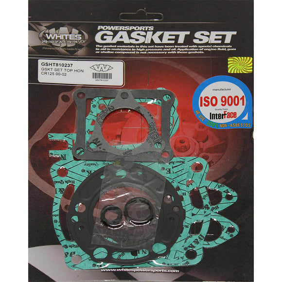 WHITES GASKET SET TOP HON CR125 00-02