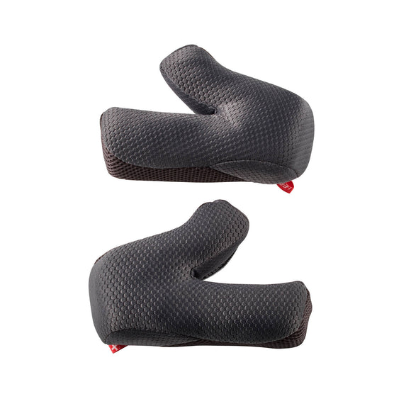 LEATT HELMET CHEEK PADS GPX 4.5/5.5/6.5  XS/SM OPTION 53mm