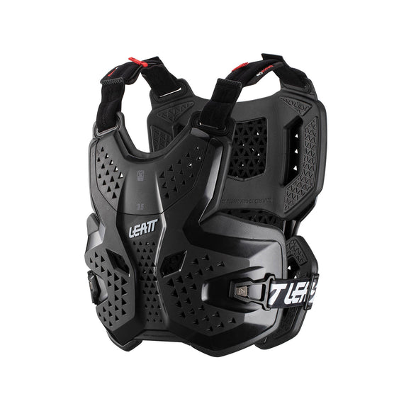 LEATT GPX 3.5 CHEST PROTECTOR HYBRID 3DF - BLACK