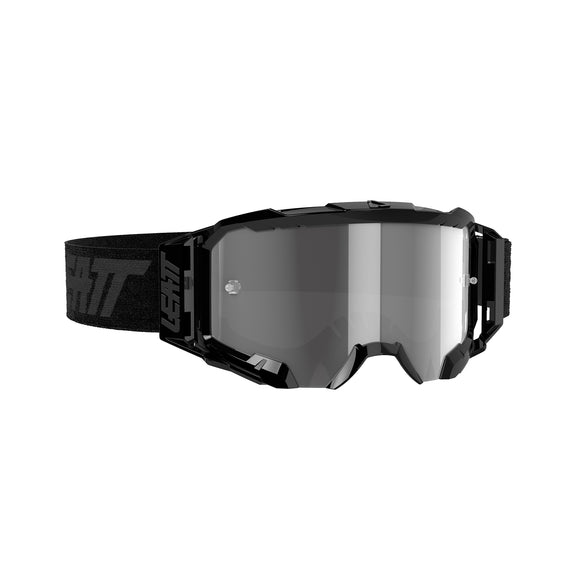 LEATT GOGGLE VELOCITY 5.5 BLK /LIGHT GRY LENS 58%
