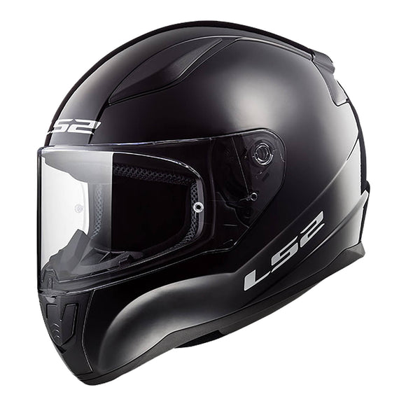 LS2 FF353J RAPID MINI HELMET - SOLID BLACK